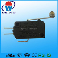 Snap action switch, snap switch, key switch for car