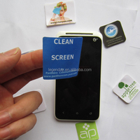 Adhesive Microfiber Screen Cleaner,mobile phone screen cleaner charm,sticky for iphone screen cleaner