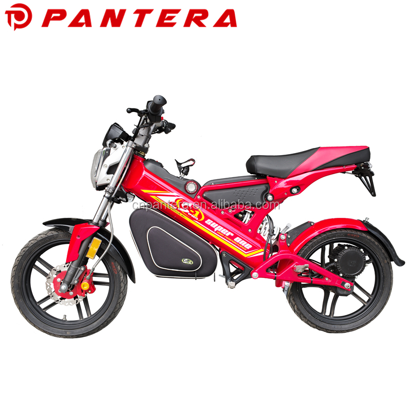 Multi-function 1500w Chainless EEC Pantera Electric Motorbike