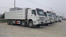 China Sinotruk Howo 8x4 420hp dump truck low price for sale
