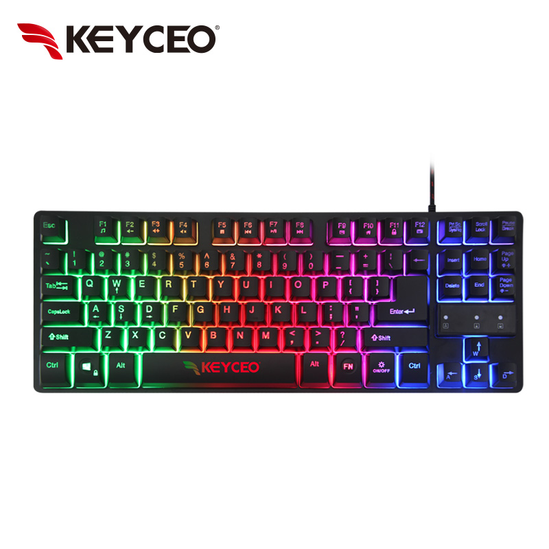 Midi Controller 87 Keys LED Gaming Keyboard for Gaming Players