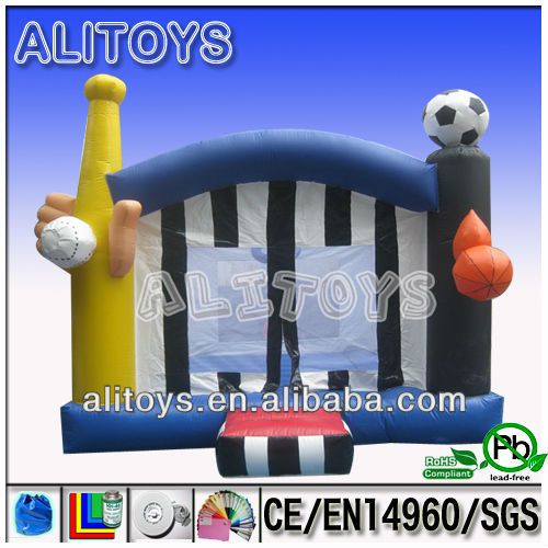 Unique inflatable exercise sport bouncer