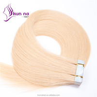 Remy hair extensions Skin Weft virgin brazilian hair PU Tape hair extension