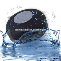 (BTS-06) Good priced water resistant bluetooth shower speaker with suction cup