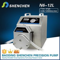 Speed adjustable roller pump for shampoo,water supply multi channels pumps,hand operated metering pump for transfer