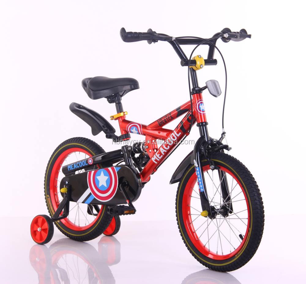 CE standard baby bicycles for sale in dubai kids bike with training wheel cute kids 4 wheel bike