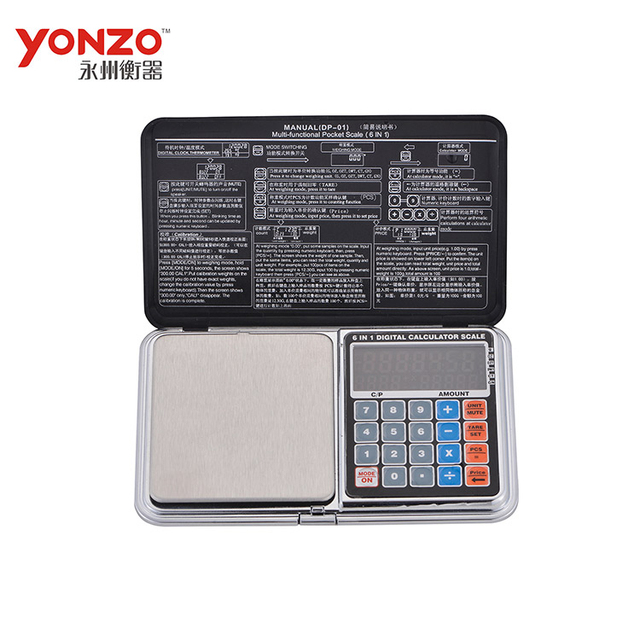0.01g pocket scale with calculator (YZ-1722)