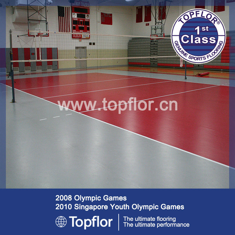 Used Volleyball Sport Court/Volleyball Court Flooring