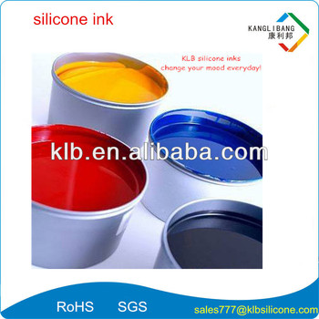 excellent heat resistance silicone printing ink for silicone swim caps