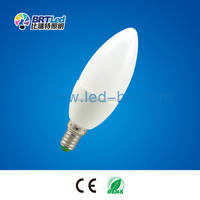 shenzhen manufactory candle 3 volt led light bulbs