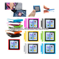 "Wholesale New colorful 8GB 6th Gen Clip MP3 MP4 MP5 Player 1.8"" touch Screen Digital mp4 music player (Fm+Ebook+Video) ."