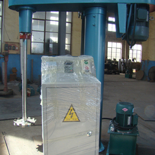 Liquid mixer high speed shearing silicone sealant disperser