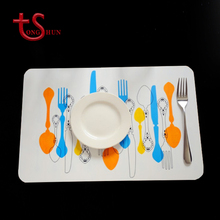 Custom Fashion Eco-friendly Easy-Clean Dinner Plastic PP PVC Placemat