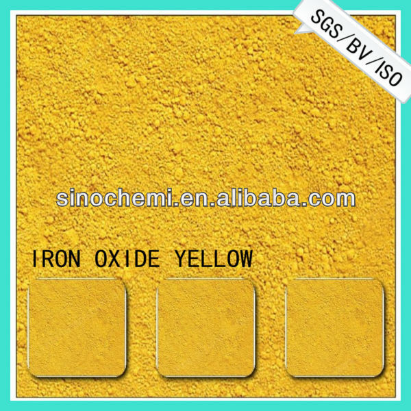pigment iron oxide yellow 42 for cosmetic greasepaint