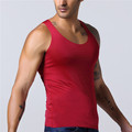 Wholesale man fitness bodybuilding top custom gym tank top