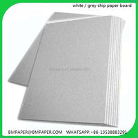 Top quality cardboard sheets recycle grey paper straw board
