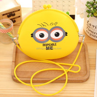 2016hot sales Christmas silicone silicone coin purse/bag with good price