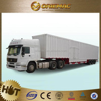 With European technology Hot Selling Flat Truck Trailer With Railway , truck trailer spare parts