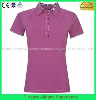 Women polo shirt / golf polo shirt / good quality pique cotton fitness polo shirt--7 Years Alibaba Experience