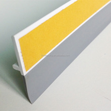 Magnetic rubber door sweeps for exterior doors weather seal bottom