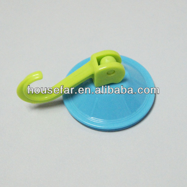 colorful plastic vacuum suction cup hook