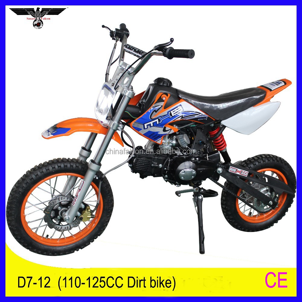 FALCON 125cc high quality pit bike mini cross best dirt bike factory (D7-12)