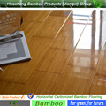 CE ISO Certified bamboo flooring manufacturer horizontal carbonized bamboo flooring
