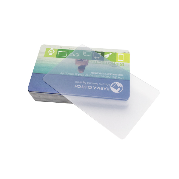 factory cheap price transparent inkjet printable pvc card
