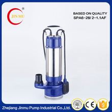 Moderate price hot selling stainless steel multistage pumps 1.5 2hp flushing pump with best service