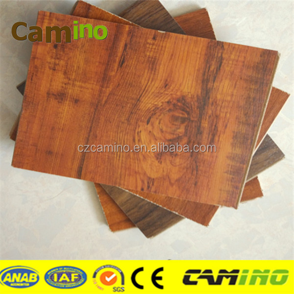 MDF / HDF 8mm /10mm / 12mm apple wood laminate flooring made in China