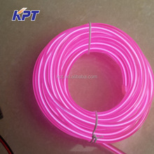 Super bright EL Wire lighting glow cable, Flexible neon rope 1mm, 2mm, 3mm, 4mm, 5mm