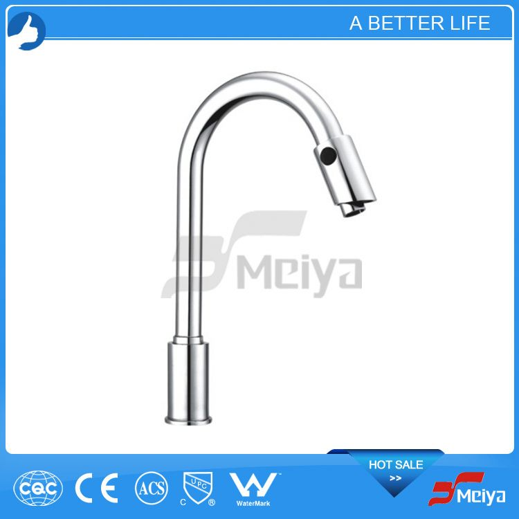 New Waterfall Bathroom Automatic Faucet Mixer Tap