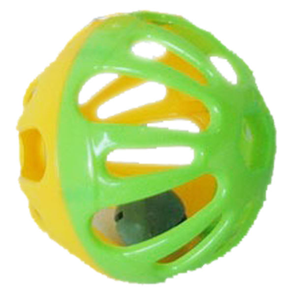 Shaking bell plastic baby rattle ball