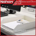 NAHAM Stacking Office Corrugated Cardboard File Letter Trays