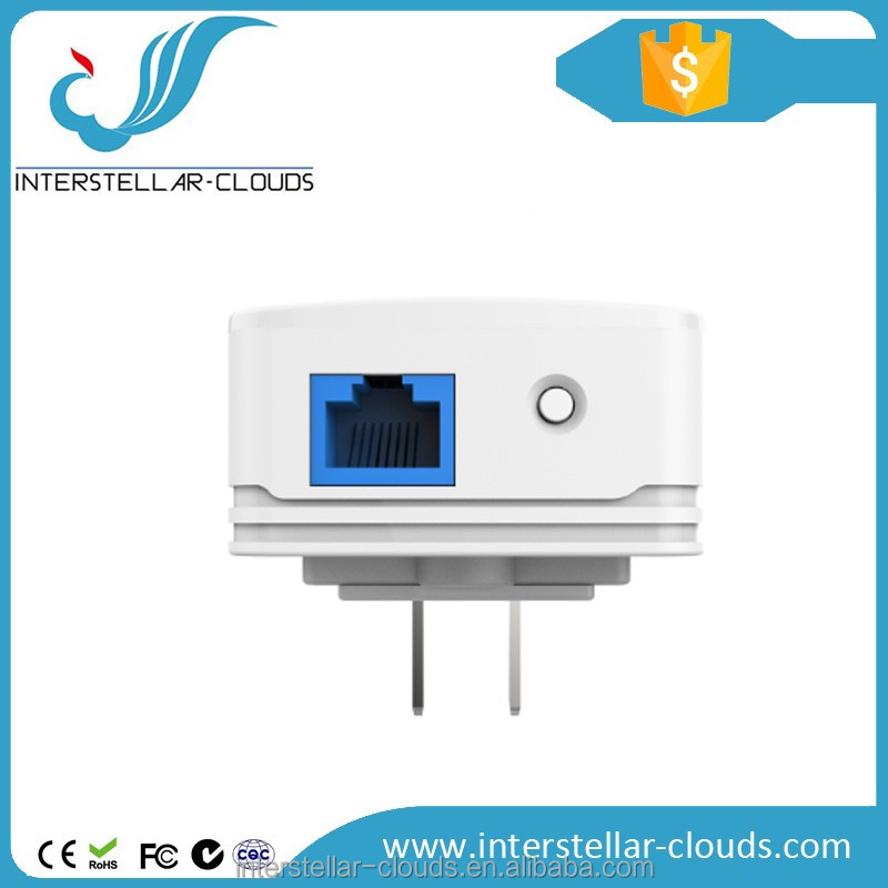 High end Powerline networking 500Mbps wireless powerline industrial powerline ethernet adapter 500m