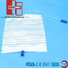 2000ml Adult urine Collection Bag,Urine bag,Disposable Urine Bag