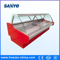 High quality NEW design meat display refrigerated food display counters