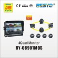 4 QUAD monitor camera system BY-08901MQS