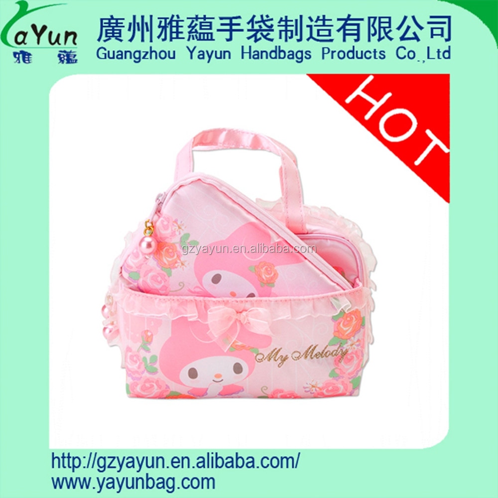 Custom fitted brand cosmetic bag wholesale