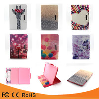 Wholesasle price colors paint kickstand flip pu leather tpu case for ipad mini 123