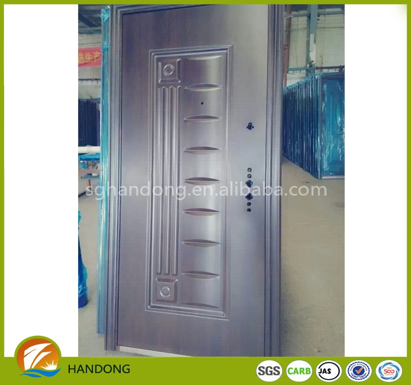 Entrance Exterior Cheap Steel Security Door Design For Egypt