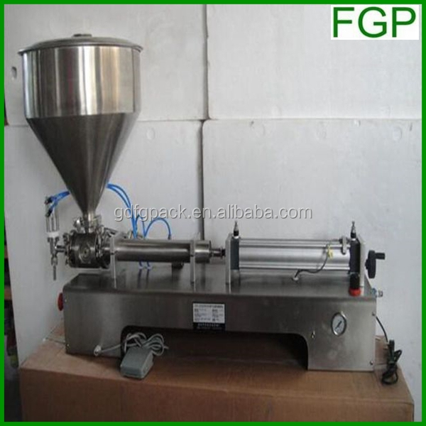 China manufacturer (Capacity can be customized) dual-nozzle cream filling machine with heating and stirring functions