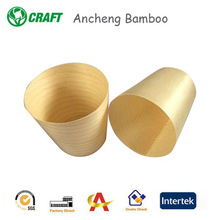Disposable Tableware Wooden Cup For Wedding Decorations