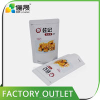 New products resealable aluminum foil packaging bags for food