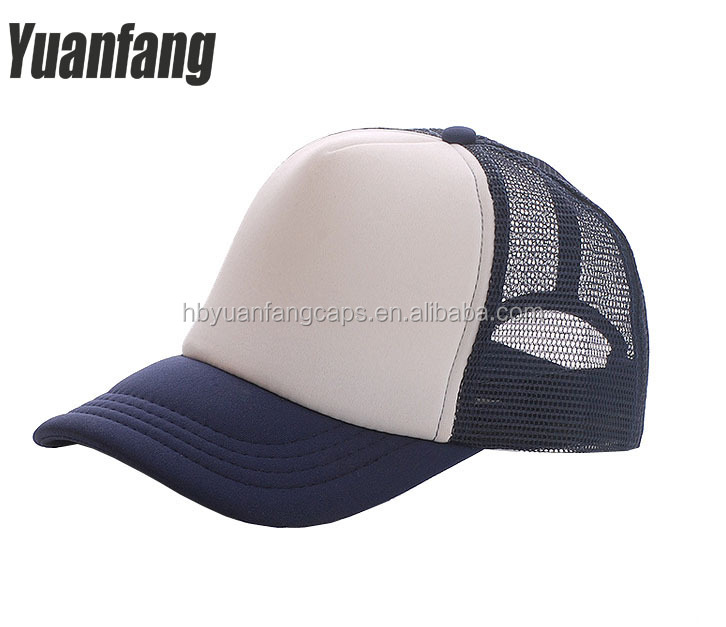 Custom Promotional Blank Colorful Trucker Cap Hat