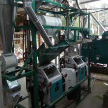 Small Scale Corn/maize Grits Milling Machine corn/maize semolina processing machine