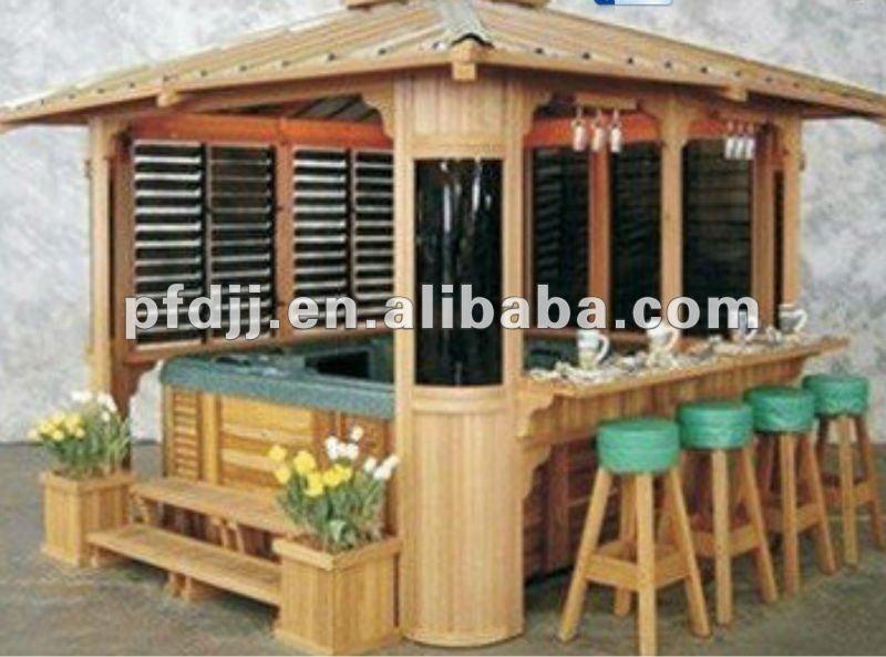 Moderne jardin gazebo pavillon belv d re id de produit for Pavillon de jardin moderne