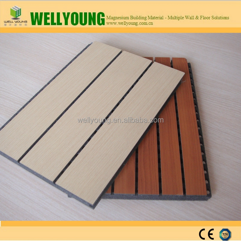 Multi-Color Melamine MGO Board Perforated Panels for Interior Wall