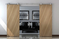 Wood Interior Sliding Barn Door/Partition panel design