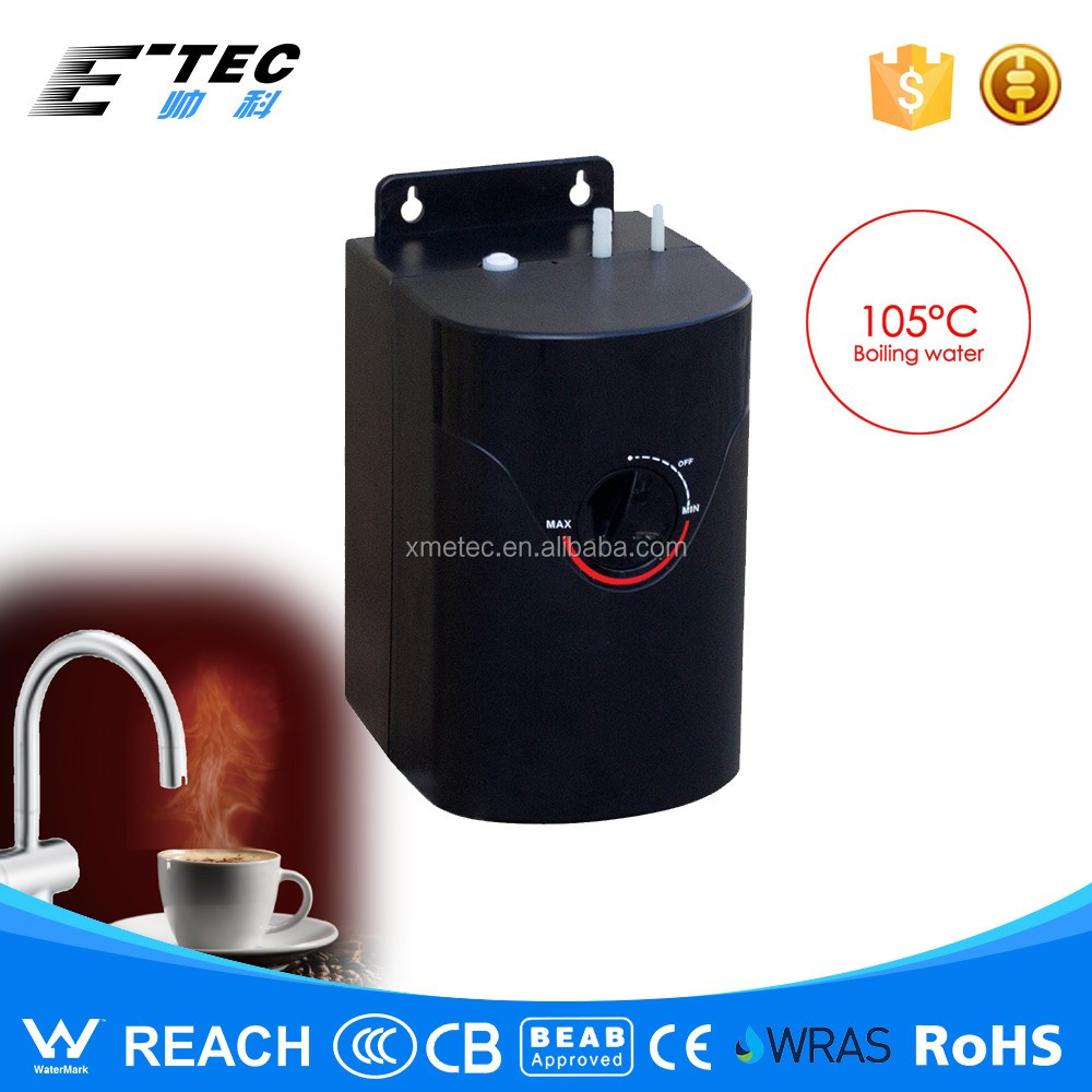 Advanced boiling water dispenser for family use